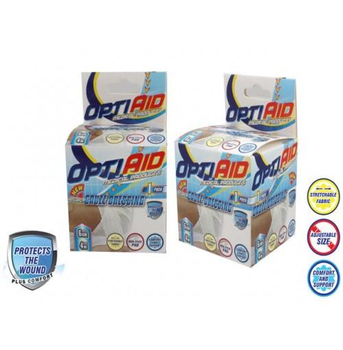 Opti Aid Gauze Dressing Bandage 6cm X 4m