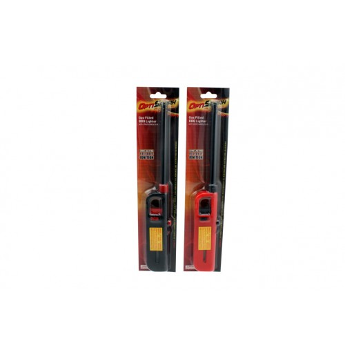 Opti Spark Bbq Lighter Gas Filled W/Safety Colrs