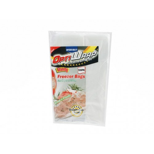 Opti Wrap Freezer Bags Small 120pk 20 X 25cm