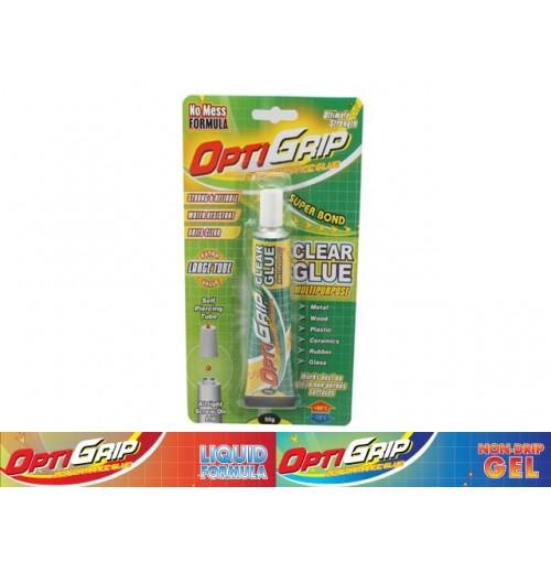 Opti Grip Multi Purpose Clear Glue 50 Grams