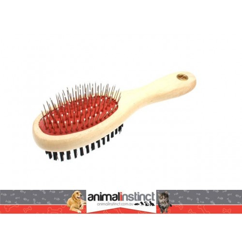 Wooden Pet Brush 22cm
