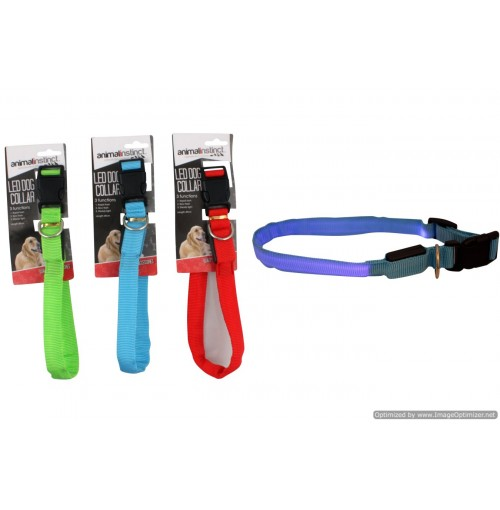 Led Dog Collar B/O 3 Functions