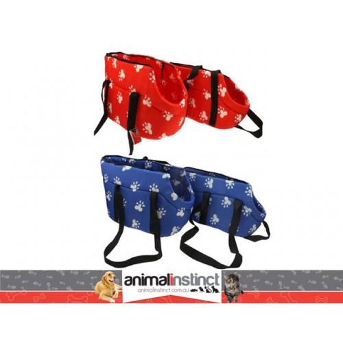 Pet Carry Bag Red/Blue