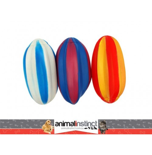 Pet Retrieval Toys 3pk Footy Shape Pvc