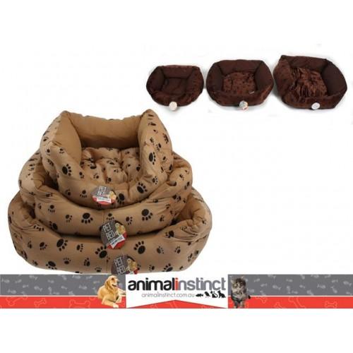 Bed Pet Lazy Lounge S/3 46x40 - 62x54 - 68x76cm