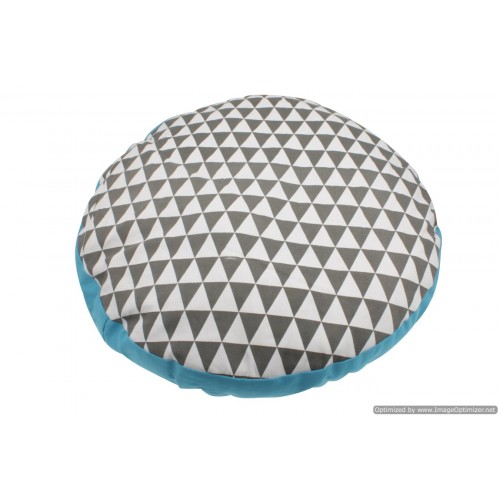 Round Geometric Pet Dog Bed Dia. 75cm