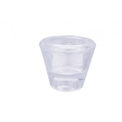 Clear Glass T/Light Holder Taper