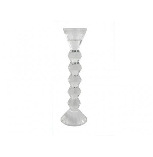 Crystal Taper T/Light Holder Med 20cm