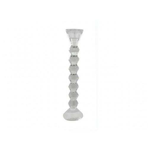 Crystal Taper T/Light Holder Lrg 26cm