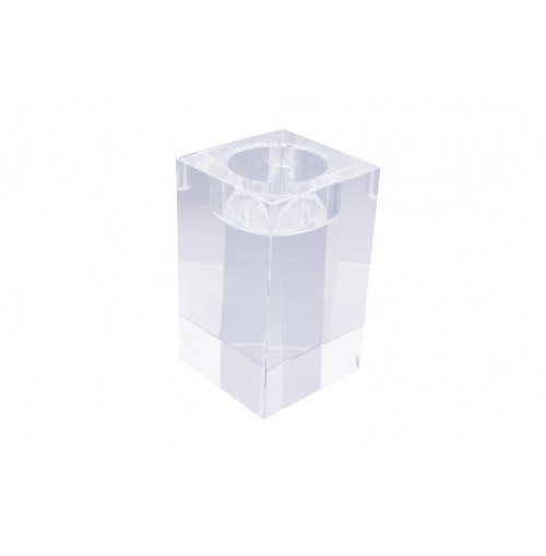 Crystal Cube T-Light Holder