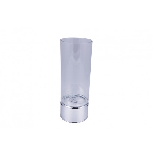 Clare Level Glass Candle Holder Lrg 9x25cm