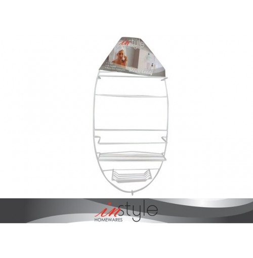 Shower Caddy Oval Shape Deluxe