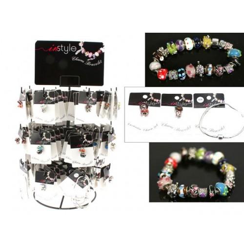 Cassandra Charm Bracelet 192pc Stand Screw Charms &Amp; Bracelet