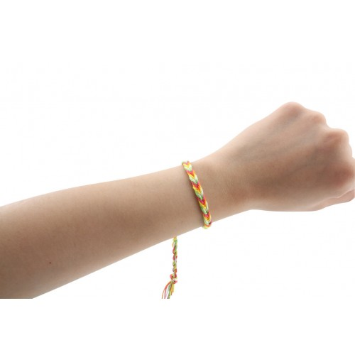 Hand Woven Nylon Bracelets /Anklets W.Disp