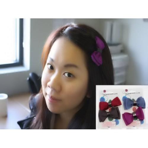 Kids Hair Clip Bows 2pcs