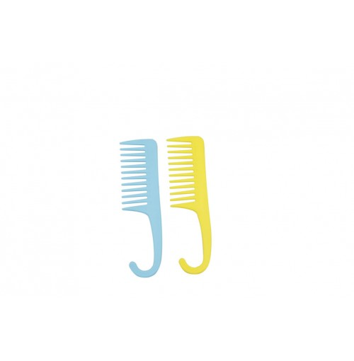 Plastic Wide Tooth Detangle Comb 22.2x6.2cm