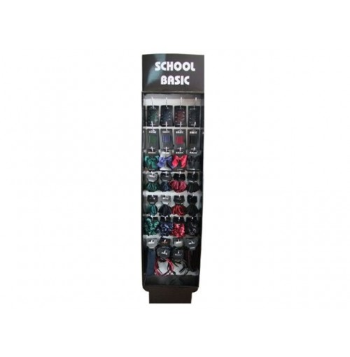 School Basics Hair Accessories In Display 360pcs