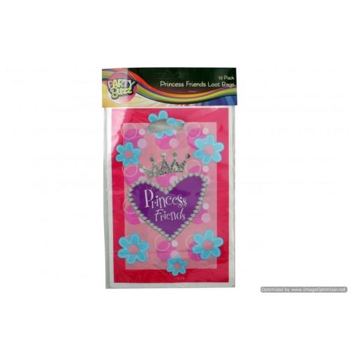 Princess Friends Loot Bags 10pk