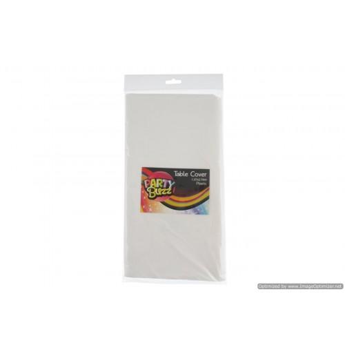Table Cover Plastic 1.37x2.74m White