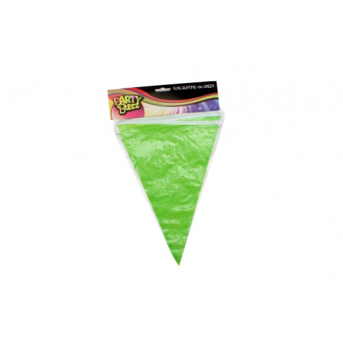 Flag Bunting 10m Green