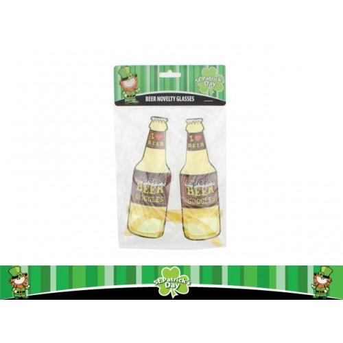 St Pats Novelty Beer Glasses 1 Design
