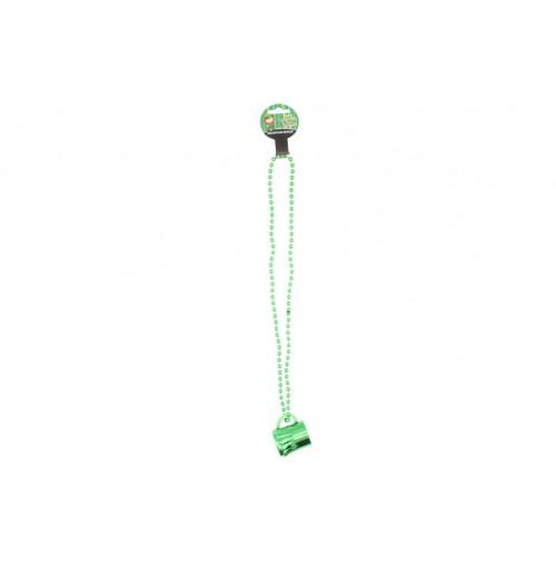 St Patrick Mini Beer Mug Necklace