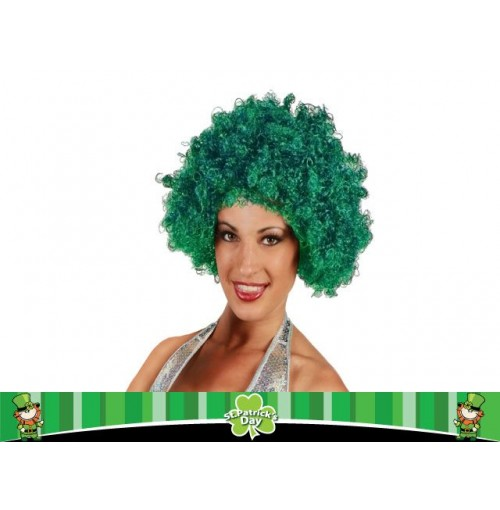 St Pats Curly Wig