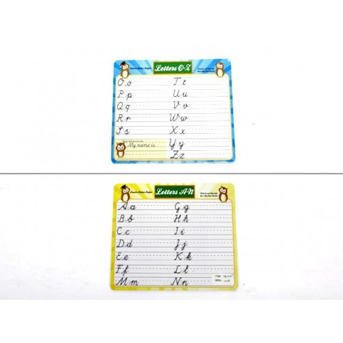 Board Lap Dry Erase Letter 2 Sided