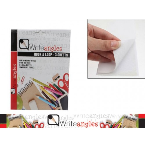 Hook & Loop For Home & Office Use 3 Sheets