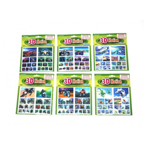 Stickers 3d Motion Machines