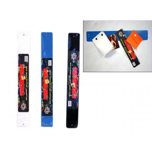 Magnet Strip Bulletin Board Mini 35.5x5cm