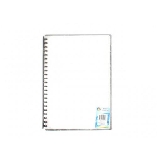 Folder With 20 Clear Sleeve