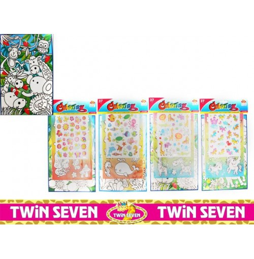 Activity Set Colouring & Sticker