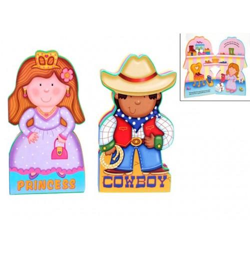 Childrens Book Eva Cowboy & Princess