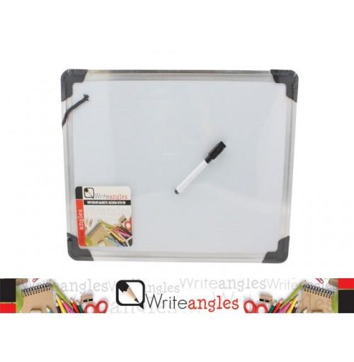 Whiteboard Magnetic 40x30cm H/D Frame W/Pen