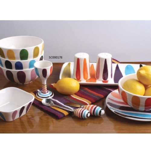 Festival Egg Cup & Spoon Set