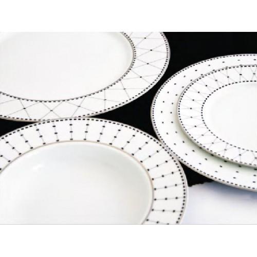 Drum Dinner Plate Rim 27cm