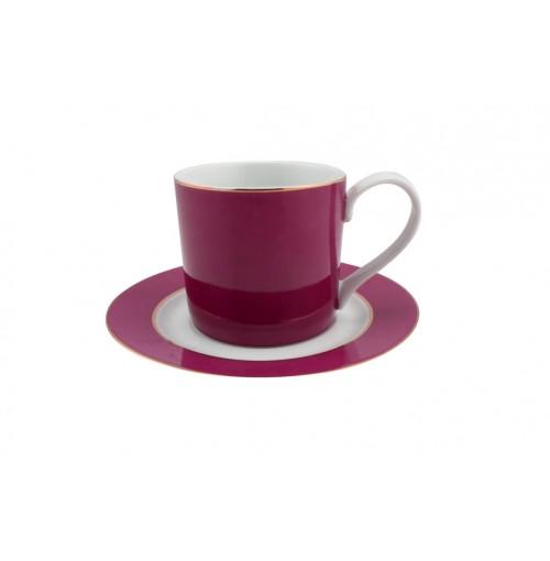 Persia Pink Tea Cup &Amp; Saucer Can Shape