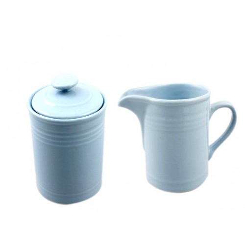 Claires Kitchen Blue Sugar &Amp; Creamer Set