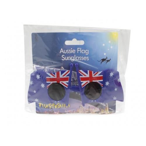 Australian Flag Glasses Novelty