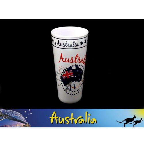 Aust Map Melamine Tumbler 532ml 18oz