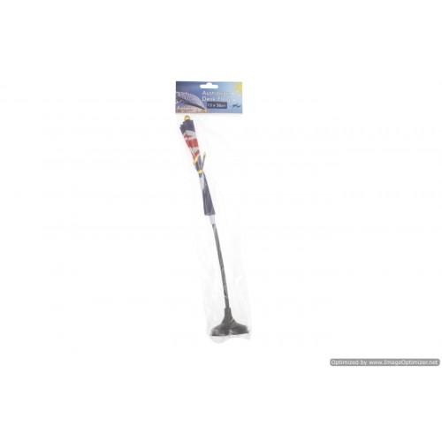Aussie Desk Flag With Base 13x26cm