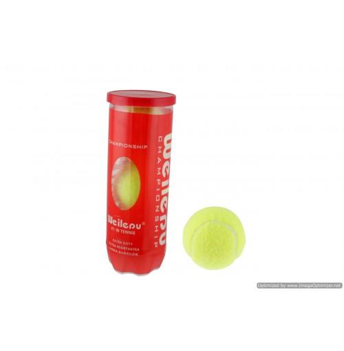 3pk High Quality Tennis Balls In Tube Vaccum Seal