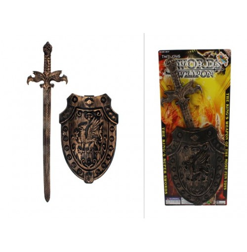 The Kings Sword & Shield Gold