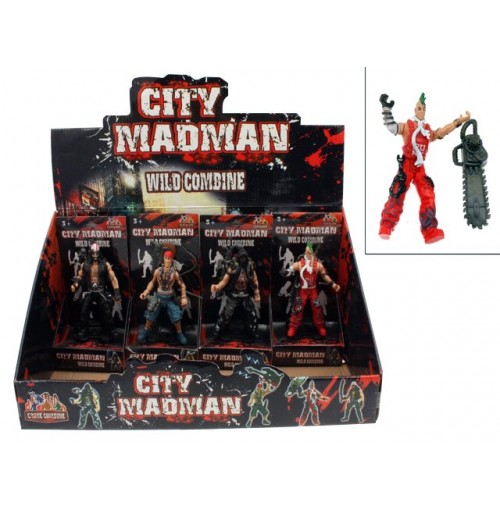 City Madman Action Figure