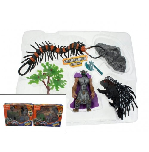 Play Set Figurine Wild Trek