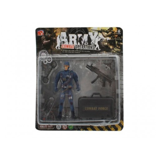Army Soldier Figurine Play Set