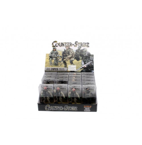 Counter Strike Figurines In Display + Acetate Box