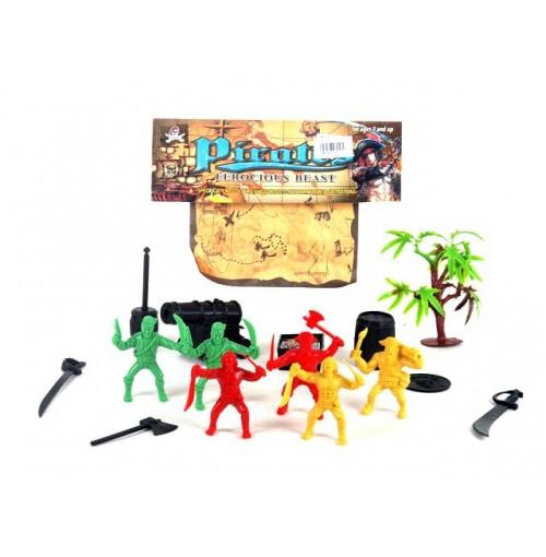 Pirate Play Set & Treasure Map