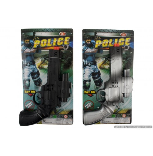 Police Hand Gun Pistol Flint Recoil Pack